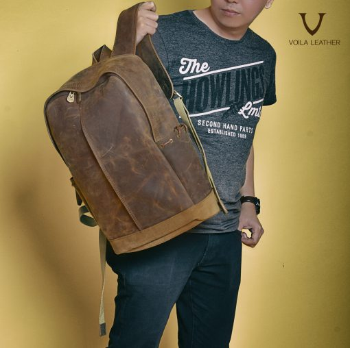 Backpack Kulit Voila Ravid
