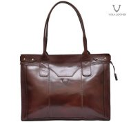 Voila Roxanne Leather Tote Bag