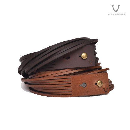 Voila Aztec Bracelet Mahogany