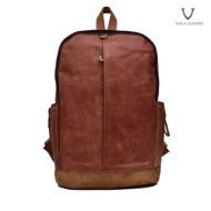 Voila Ravid Havana Leather Backpack