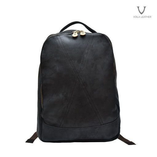 Ransel Kulit Voila Rocky Junior Black
