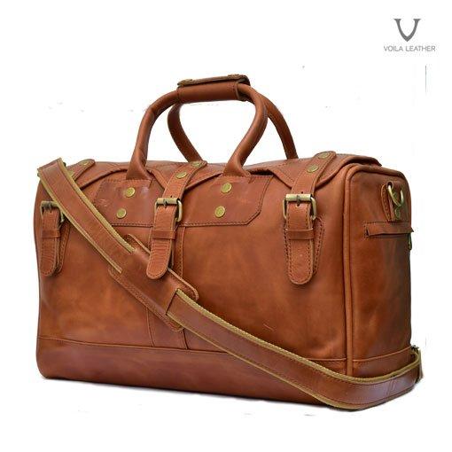 067ce0e546 Tas Travel Kulit Voila Alister. Voila Alister Leather Travel Bag