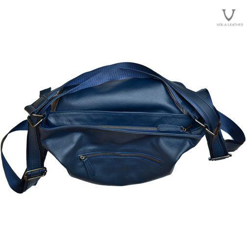 Tas Hobo Kombinasi Backpack Kulit Voila Enyma Navy