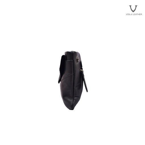 Pouch Selempang Kulit Voila Vidya Black