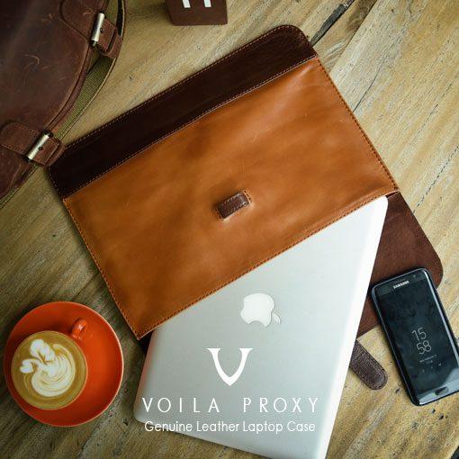 Case Laptop Kulit Asli Voila Proxy