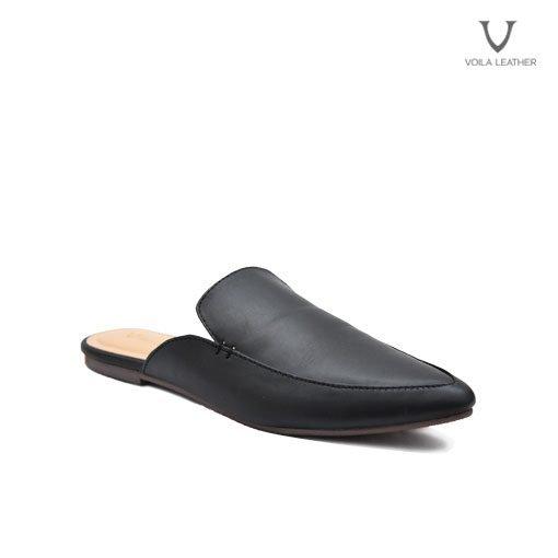 Flat Shoes Kulit Asli Voila Avril