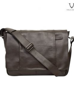 Messenger-Bag-Kulit-Asli-Voila-Robin-Brown