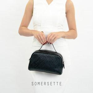 Handbag Selempang Anyam Voila Somersette