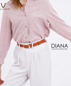 Women's Belt Diana in Brown
